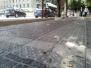 Nuova isola pedonale di Piazza Tacito a Terni