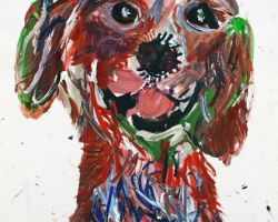 04 05421 My Dog III   Ping Lian Yeak   Painted At Age 11